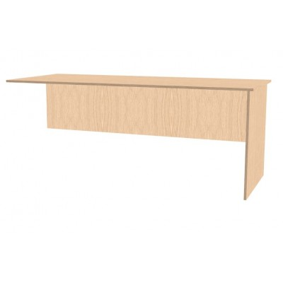 Panel End Fitted desk Return
