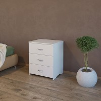 Bed side table chest of 3 drawers