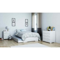 Value Bedroom Pack, Including: Trundle bed, Bedside table, & Tallboy