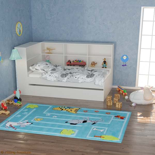 kids beds with storage trundle with abundant storage. Black Bedroom Furniture Sets. Home Design Ideas