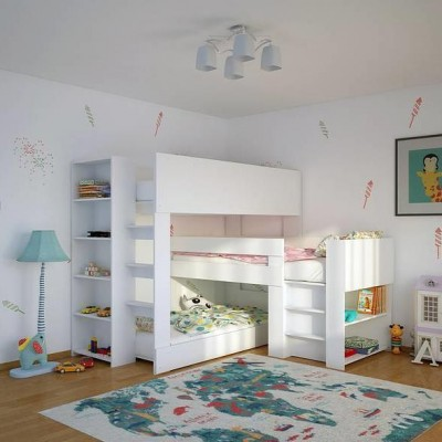 Triple Transverse bunk bed - Three single beds in one