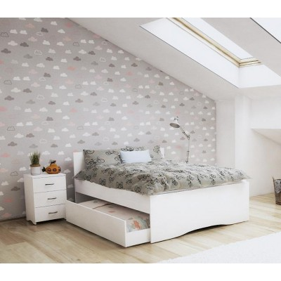 Double Trundle bed with Optional Extra storage