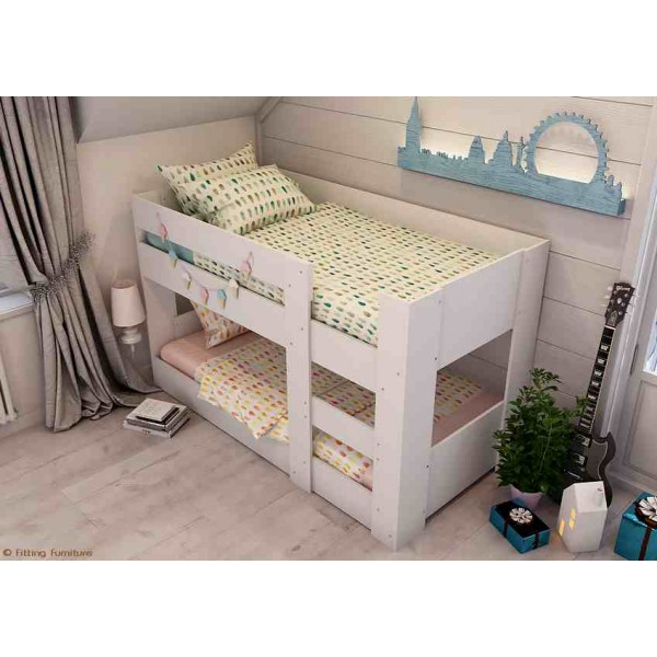 Beau Bunk Bed Compact Mini Low Height   Innovative Design!