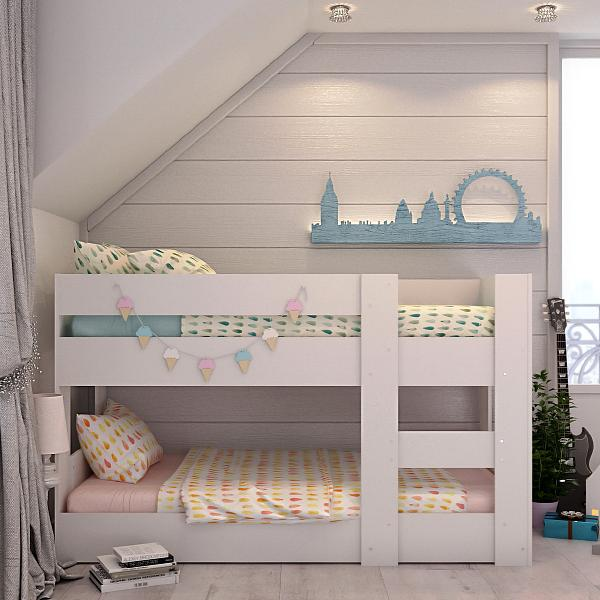 Kids Beds Melbourne Bunk Bed Compact Mid Low Height