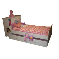 Kialla bed with lots of storage and trundle option