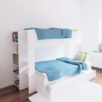 Triple Bunk Bed - Single over double bed +  Optional trundle