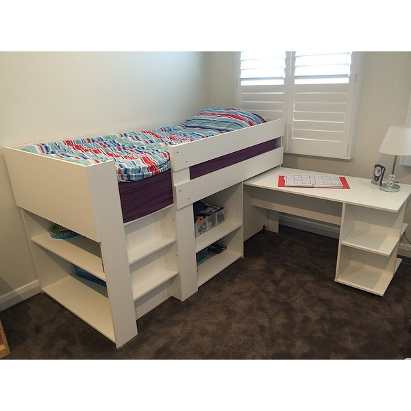 Spacesaver Compact mid sleeper bed  - Now available in 8 different variations!