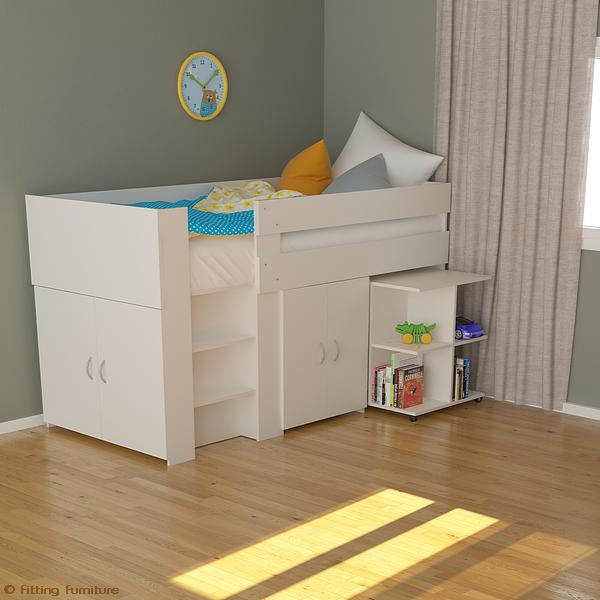 Loft Bed For Kids Loft Bed With Desk Loft Beds