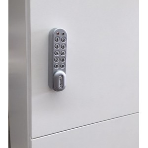 New Electronic codelock option kl1000  and kl1200 for locker banks