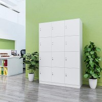 Lockers 12 Doors - bank of 4 x high & 3 x Wide