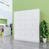 Lockers 12 Doors - Locker bank of 3 x high & 4 x Wide