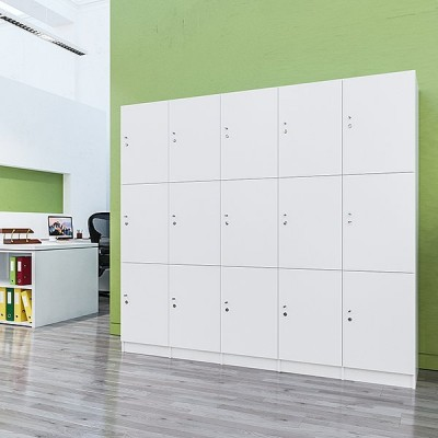 Lockers 15 Doors - bank of 3 x high & 5 x Wide