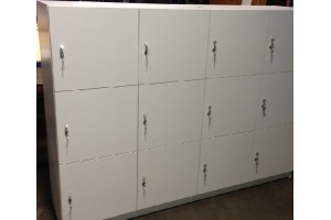 New Fitted Locker bank Products!