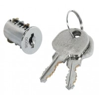 Spare Part - Hafele Keyed lock Locker replacement Spare Barrel & set of two keys