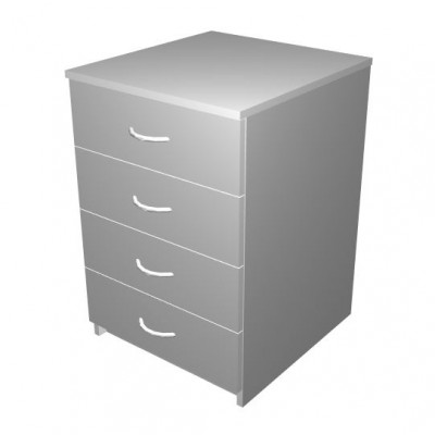 Mobile Drawer Unit with 4 drawers