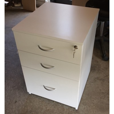 Mobile Drawer Unit with 2 drawers + file drawer