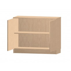 Credenza Low Cupboard with 2 Doors