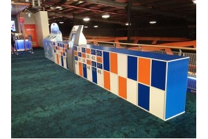 Lockers for Skyzone Trampoline park