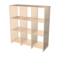 3 x 3 Cube Open storage shelf system