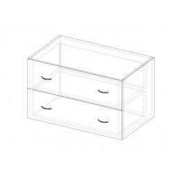 Drawer unit  - wide - for inside Wardrobe